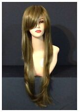 Heat Resist Up To 220dc Long Wavy,Party,Cosplay,Casual,Ash With Blonde Wigs