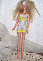 1995 Barbie Doll Crimp Blonde Hair