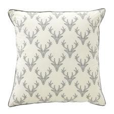 Bianca Caribou Charcoal Deer Stag European Pillowcase