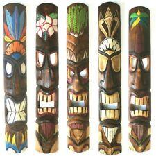 Hawaii Maui Tiki Maske 100 cm Aloha Bar Wandmaske  Hawaiimaske Wandschild Südsee