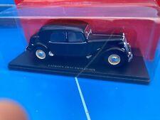 1/24 1/24eme Passion Citroën 15 Six 6 voiture miniature Hachette Traction