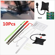 10x Portable Car Door Key Lost Lock Out Emergency Opener Opening Unlock Tool Kit