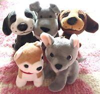 Animal Stuffed Soft Plush Toy Key Charm Dog Puppy Poodle Chain Ring Bag JAPAN