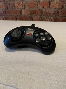 Official Genuine Sega Mega Drive 6-Button Control Pad (Red Start Button)