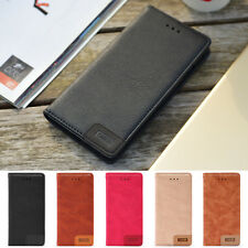 For Apple iPhone X 8 / 7 Plus Luxury Magnetic Flip Cover Card Stand Leather Case