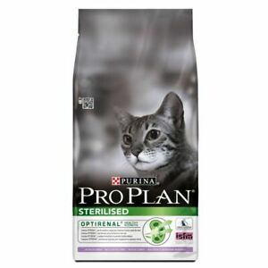 Purina Pro Plan Sterilised Adult Cat Optirenal Rich In Turkey Dry Food*3kg PACK*