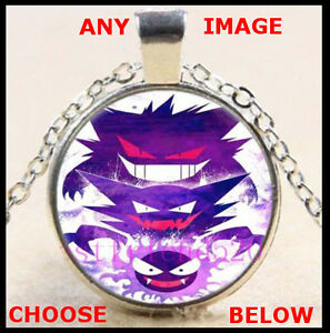 Set of 5 Pokemon Go Necklaces - Chain and Pendants Party Favour Gifts