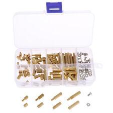 New Listing120pcs M3 Male Female Brass Standoff Spacer Pcb Board Hex Screws Nut G3 Lu