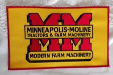 Minneapolis-Moline Patch Tractors & Farm Machinery Modern