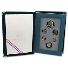 1990 United States US Mint Prestige Proof Set 90% Silver with Original Box & COA