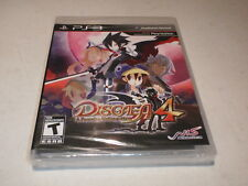 Disgaea 4: A Promise Unforgotten PS3 New Sealed