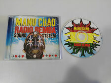 MANU CHAO RADIO REMBA SOUND SYSTEM GRABADO EN VIVO CD 2002 29 TRACKS