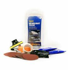 1set MANNOL Headlight Polish Restoration System Kit Remove Yellowing