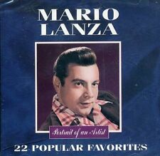 MARIO LANZA 22 POPULAR FAVORITES CD – BRAND NEW & FACTORY SEALED