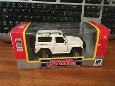 New Ray 1/32 Scale Toyota Land Cruiser - White - Boxed