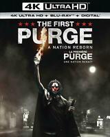 The First Purge - 4K Ultra HD UHD + Blu-ray (2018)