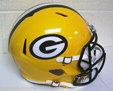 Green Bay Packers NFL Full Size Football Helmet Replica Speed