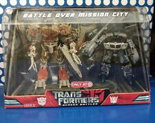 TransFormers Megatron Battle over mission city movie pack dio Voyager Jazz HA G1