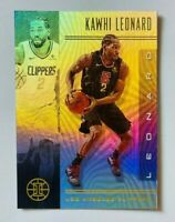 2019-20 Panini Illusions Kawhi Leonard Card #125, Clippers!