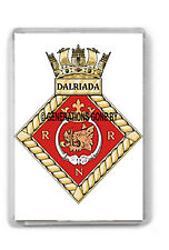 HMS DALRIADA FRIDGE MAGNET