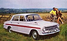 Print. 1962 White/Red Vauxhall VX 4/90 FB Auto Ad