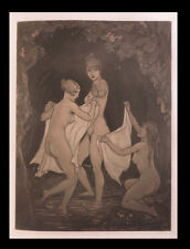 [CURIOSA EROTISME] OVIDE / LAMBERT (André) Métamorphoses. 1/30 Japon + Aquarelle