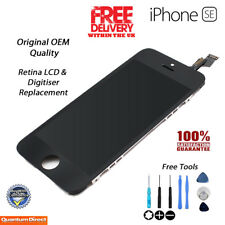 NEW Original iPhone SE Retina LCD Digitiser Touch Screen Assembly - BLACK