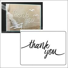 Thank You embossing folder Darice Embossing Folders 30023103 words phrases