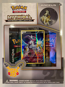 Arceus Mythical Collection Generations 20th Anniversary Pokemon Promo Box XY116