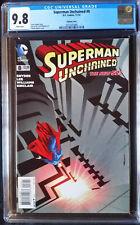 Superman Unchained (2013 DC) #8 Nguyen Variant CGC 9.8 1:25