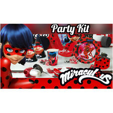 Miraculous Ladybug Mega Party set |16 guests - !!94pcs!! LADYBUG Party Supplies