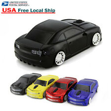 Cool Cordless USB 2.4Ghz Wireless car mouse Laptop PC Game Mice LED Gift 1600DPI