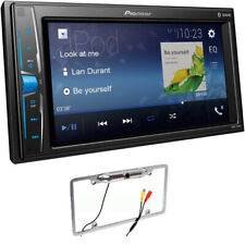 PIONEER MVH-210EX 2-Din Bluetooth in-Dash Digital Media Car Stereo W/REAR CAMERA