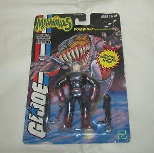 GI Joe Vtg Figure Hasbro 2000 MANIMALS Sealed WARWOLF Rare New Toy G.I. HTF