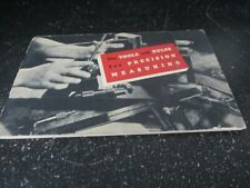 VINTAGE 1947 Starrett Tools The Tools and Rules For Precision Measuring Booklet