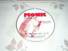 Monk REPLACEMENT Disc 2 only, Season 1 DVD