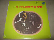EDDIE CONDON The Immortal SEALED New Vinyl LP Hot Lips Page Billy Butterfield