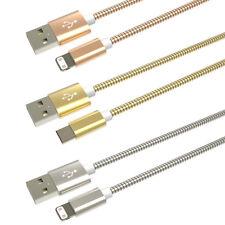 Kabel Stahl Neu Laden Transfer Daten Smartphone Kompatibel IPHONE Ios USB