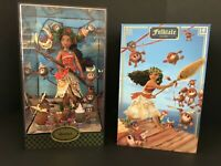 Disney Designer Fairytale Moana and Heihei Limited Edition Doll Set