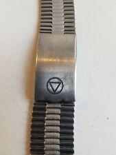 Vintage NSA Stainless Steel  Bracelet (20 mm end link)