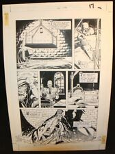 Legends of the Dark Knight #20 p.17 Batman Sets His Trap '91 by Trevor Von Eeden Comic Art