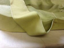"4 Yrd 2 1/4"" HANK Antique/Vintage Silk Rayon Satin Back Velvet Ribbon Mint Green"