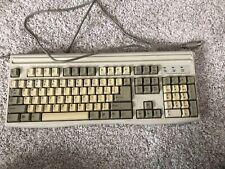Vintage Mitsumi Keyboard KPQ-E99ZC-13 5-pin DIN Connector Model KPQEA4ZA & PS/2