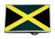 Jamaican Flag Belt Buckle Jamaica Cross Authentic Dragon Designs Branded Product