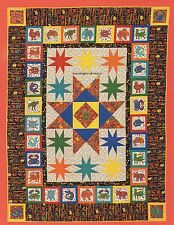 Mola Menagerie Quilt Pattern Pieced FP