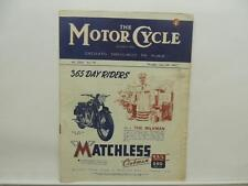 June 1947 The Motorcycle Magazine Matchless Clubman G3/L G80 Isle Of Man L8590