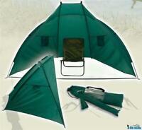 XXL Strandmuschel 240x140x130cm Pop Up Strandzelt Sonnenschutz Windschutz