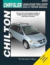 2003-2007 Town Country Caravan Grand Voyager Chilton Repair Service Manual 8574