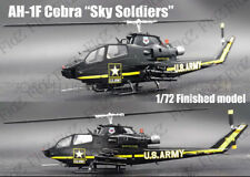 AH-1F Cobra Sky Soldiers aerial display team finished 1/72 Easy model helicopter