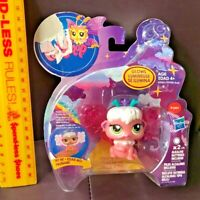 VINTAGE LITTLEST PET SHOP SHIMMERING SKY DAYBREAK FAIRY TOY FIGURE LIGHTS UP LPS